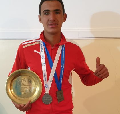Abderrahim Taouallout, Born on April 1st, 2000, is a trial runner looking for a sponsor