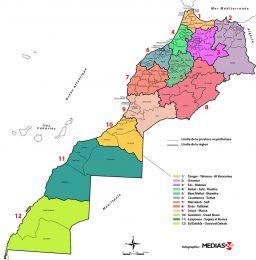 Carte duMaroc